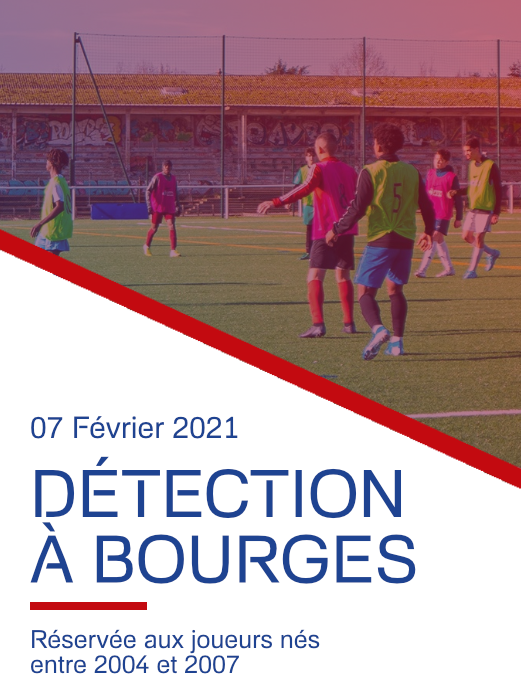 Détection Football Bourges 07 02 2021 - France Football Détection