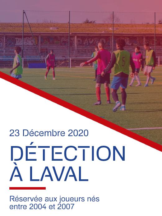 Détection Football Laval 23 12 2020 - France Football Détection