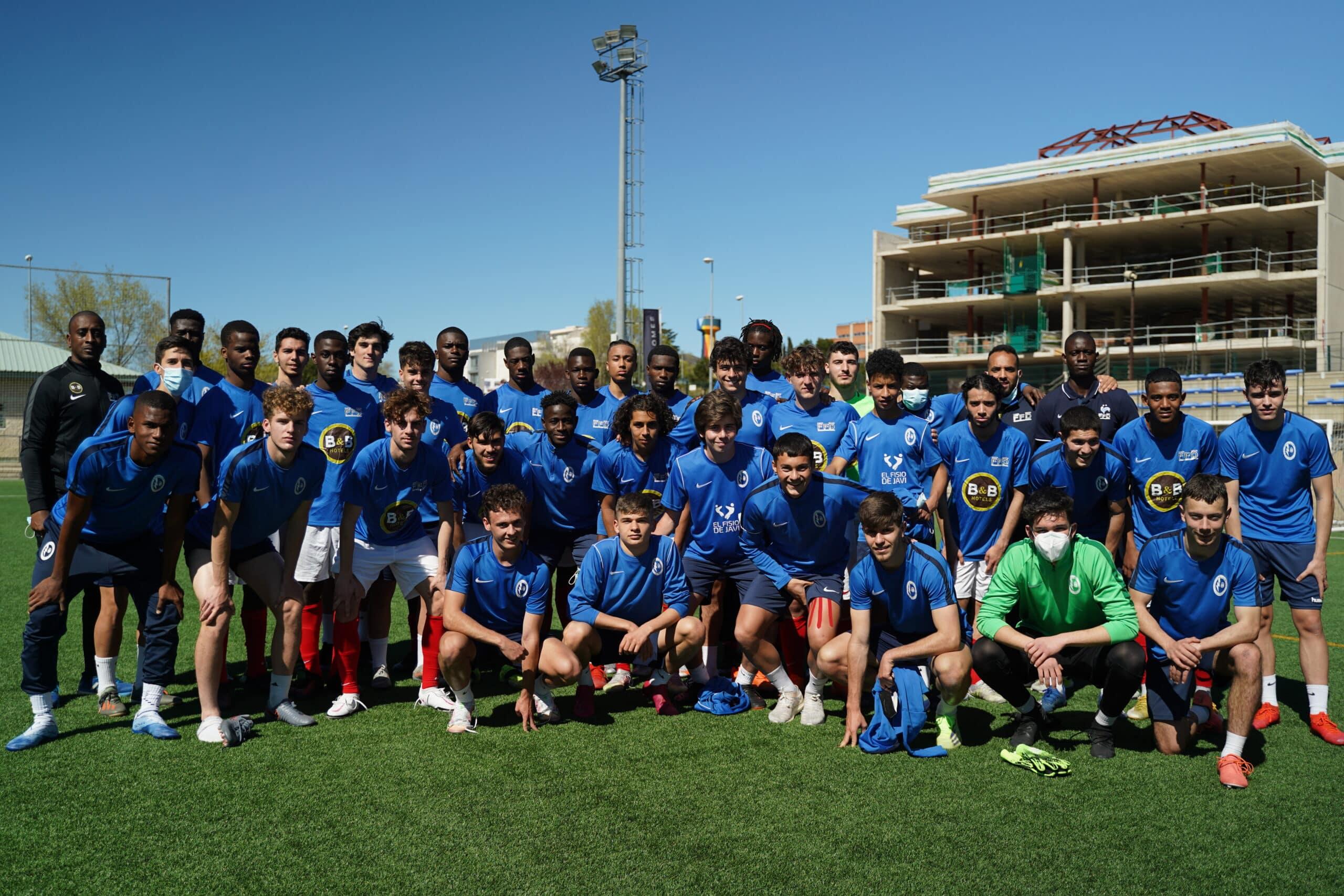Sélection U21 en stage en Espagne après la phase finale de 2020